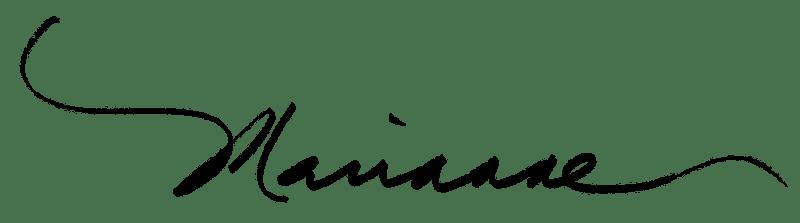 Marianne Williamson signature